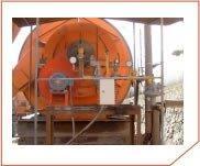 Queimador a gás industrial